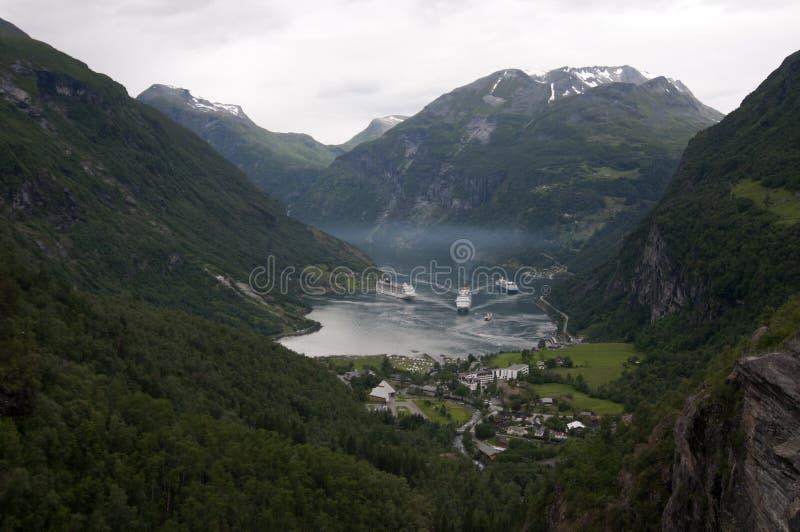 Geirangerfjord стоковое фото rf