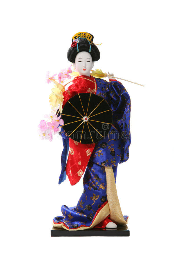 geisha royaltyfria bilder