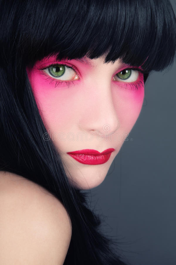Geisha lizenzfreies stockbild