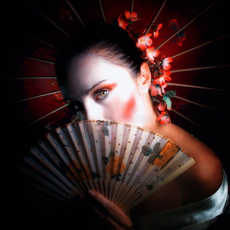 Geisha arkivfoton