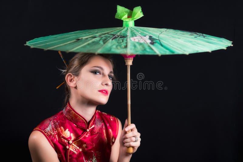 geisha royaltyfria foton