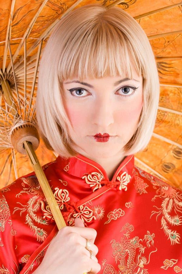 Geisha royalty-vrije stock fotografie