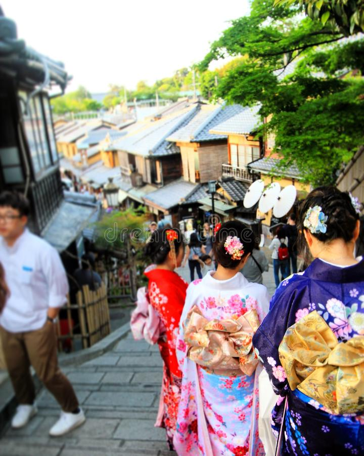 Geisha lizenzfreie stockfotos