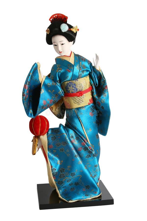 Geisha doll. royalty free stock photo