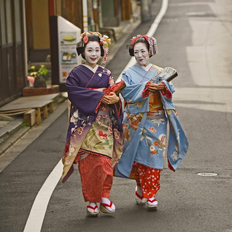 Geisha's royalty-vrije stock foto