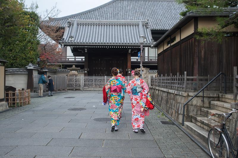Gion district of Kyoto, Japan stock photography