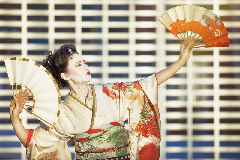 Geisha urbain photos libres de droits