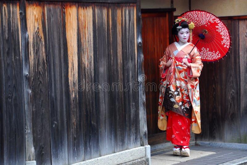 Geishaerfahrung stockfoto