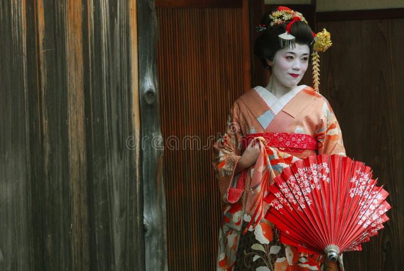 Geishaerfahrung lizenzfreie stockfotografie