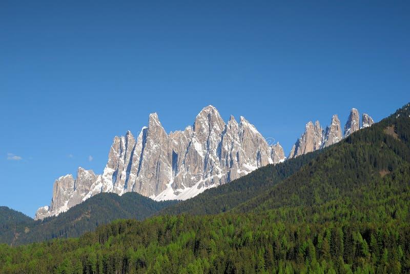 Geisler Range Mountains