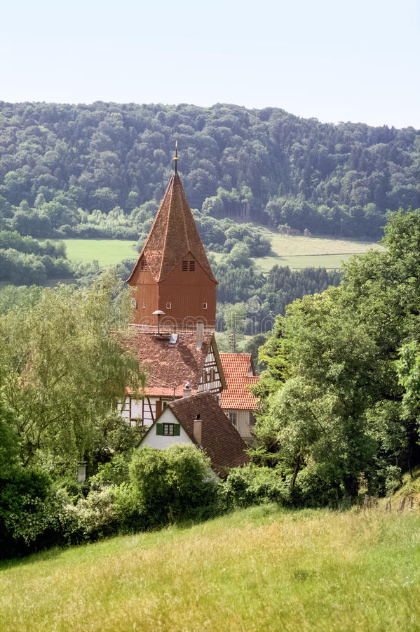Geislingen在Hohenlohe 免版税图库摄影