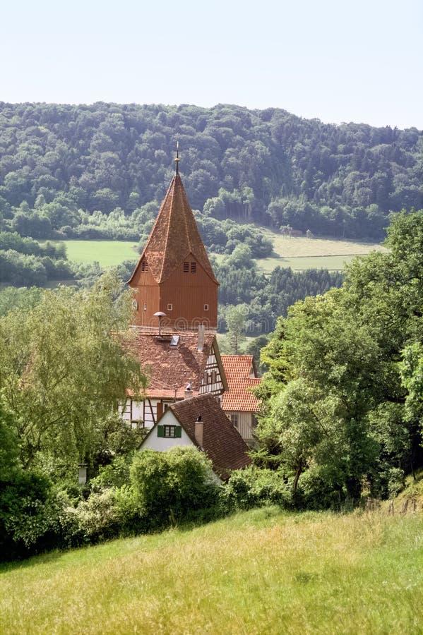 Geislingen em Hohenlohe fotografia de stock royalty free