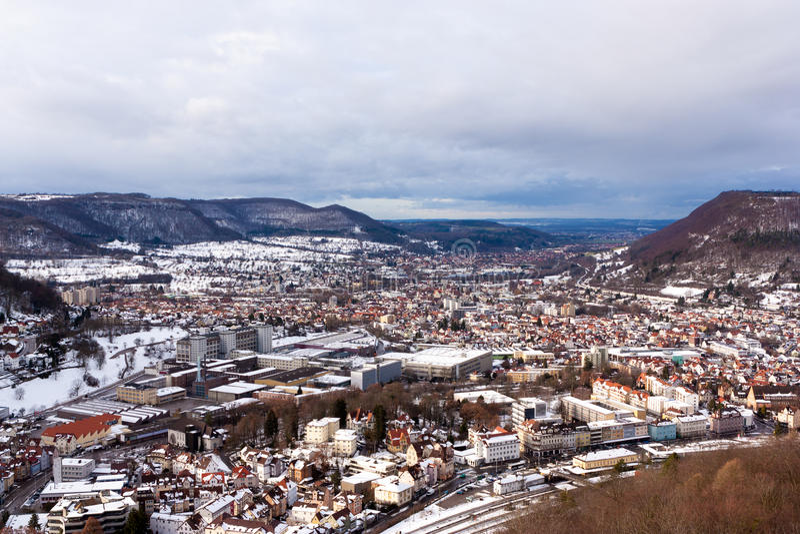 Geislingen um der Steige, Alemanha foto de stock royalty free