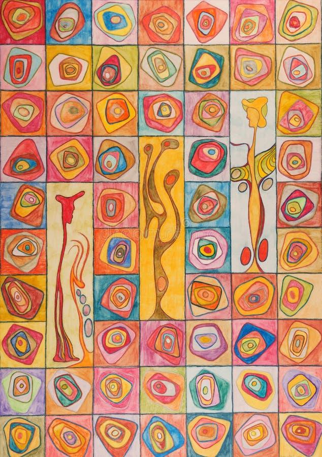 Geist der farben-ziel van kleuren royalty-vrije stock foto's