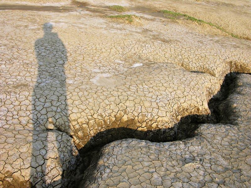 Geist in der Wüste stockfoto