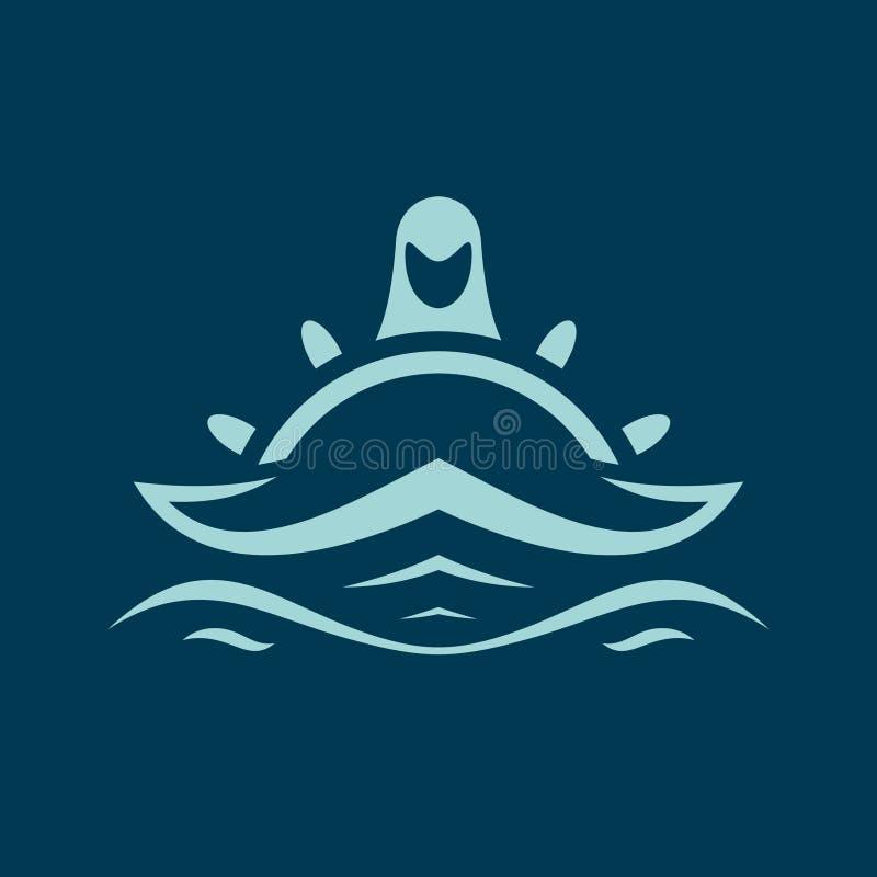 Geist des Ozeanzeichens lizenzfreie abbildung