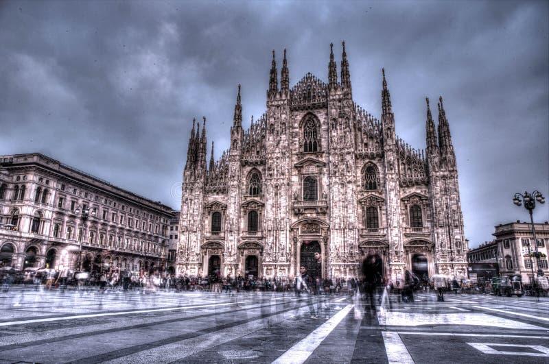 Geist in Mailand lizenzfreie stockbilder