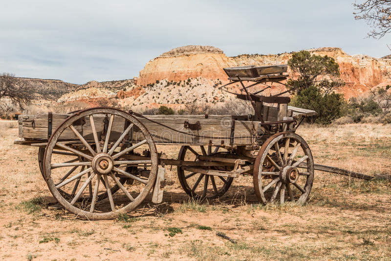 Geist-Ranch, New Mexiko stockfotografie