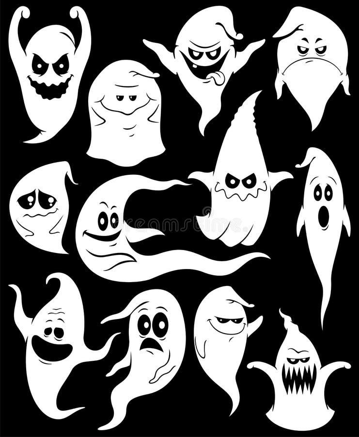 Geister stock abbildung