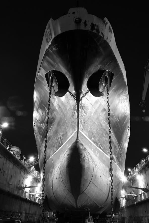 Geisterschiff stockbild