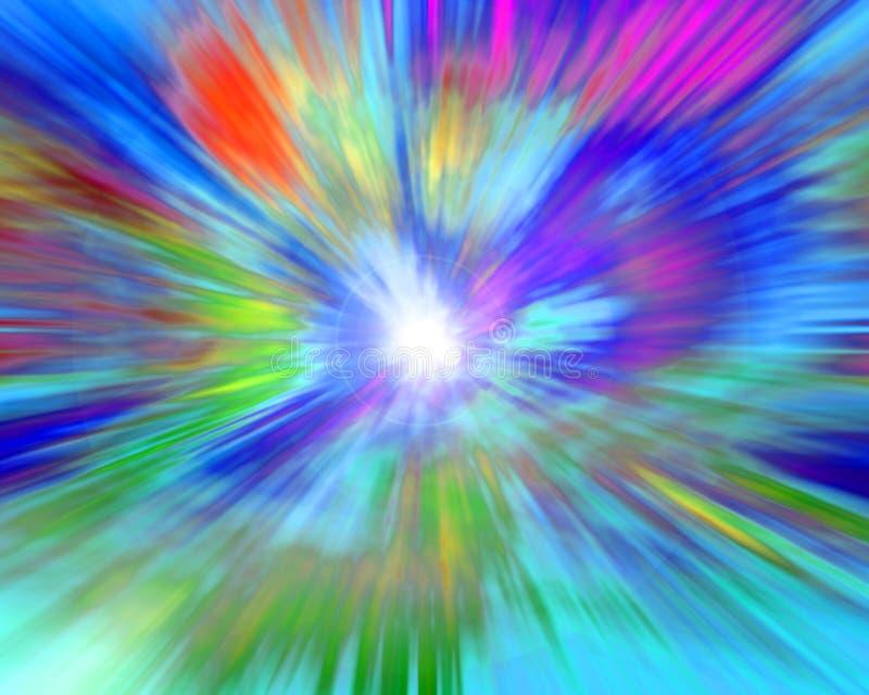 Geistige Farben stock abbildung