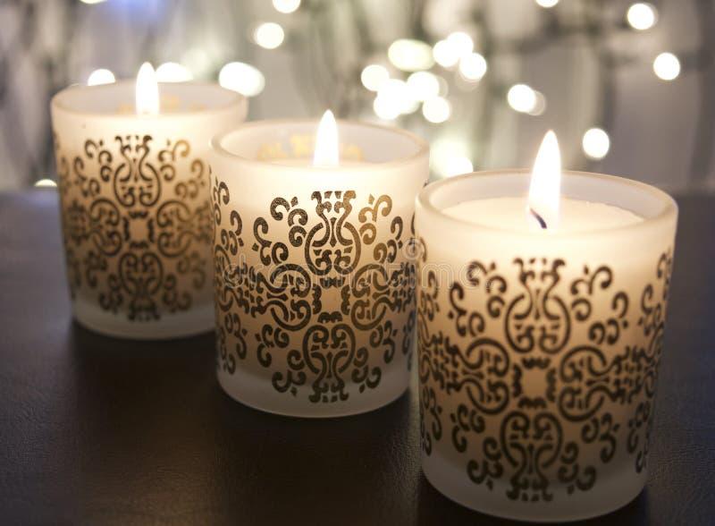 Geistige Kerzen lizenzfreies stockfoto