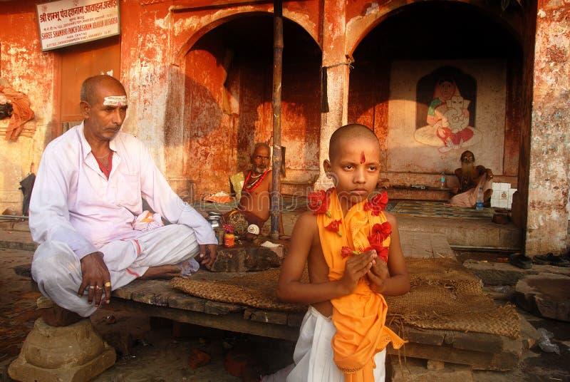 Geistigkeit in Indien stockfotografie