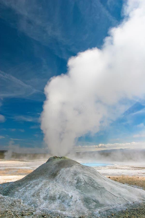 gejzer Iceland zdjęcia royalty free