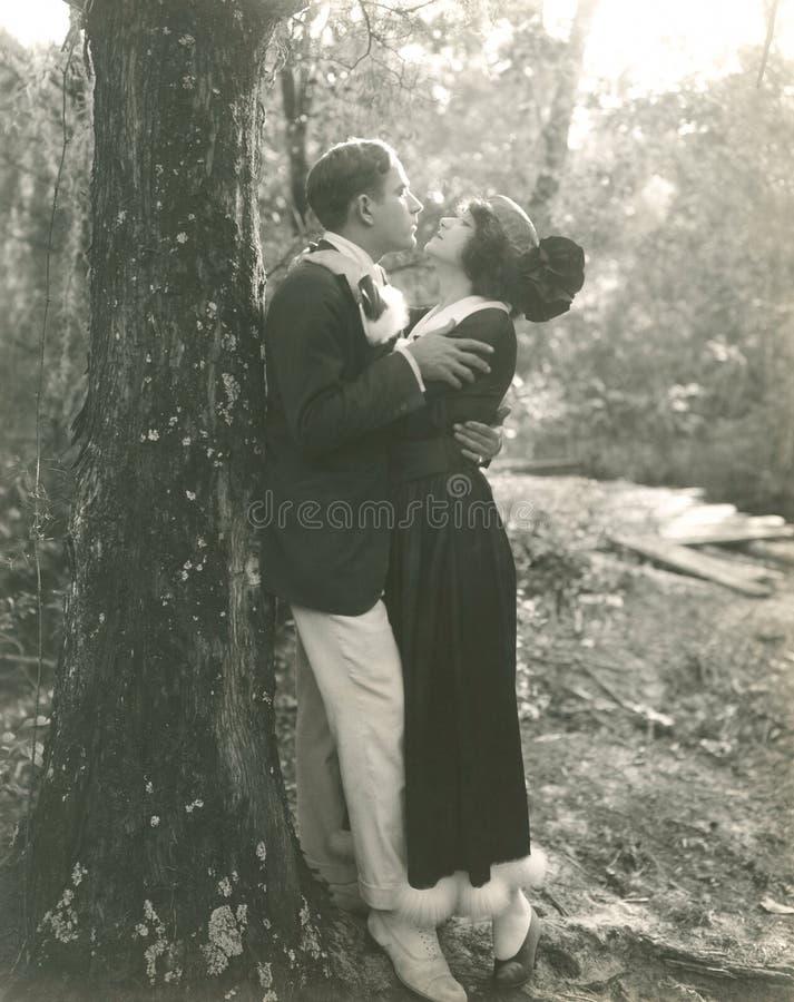 Gek in liefde stock fotografie