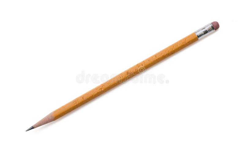 Gekauter Bleistift stockbild