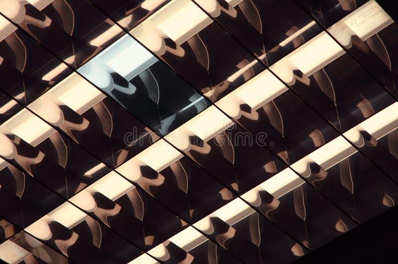 Gekke gloed-buis royalty-vrije stock foto