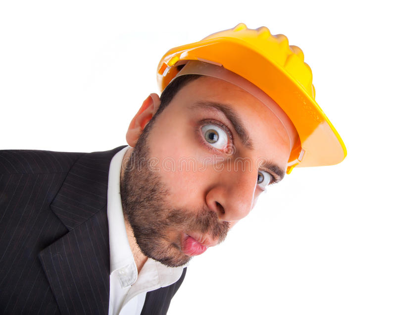WOW Ingenieur stock foto
