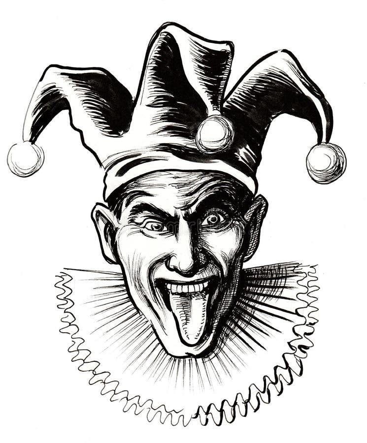 Gekke jerster royalty-vrije illustratie