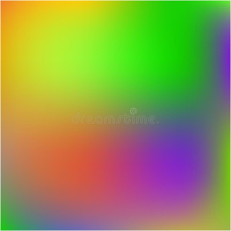 Gekleurd abstract beeld als achtergrond stock illustratie