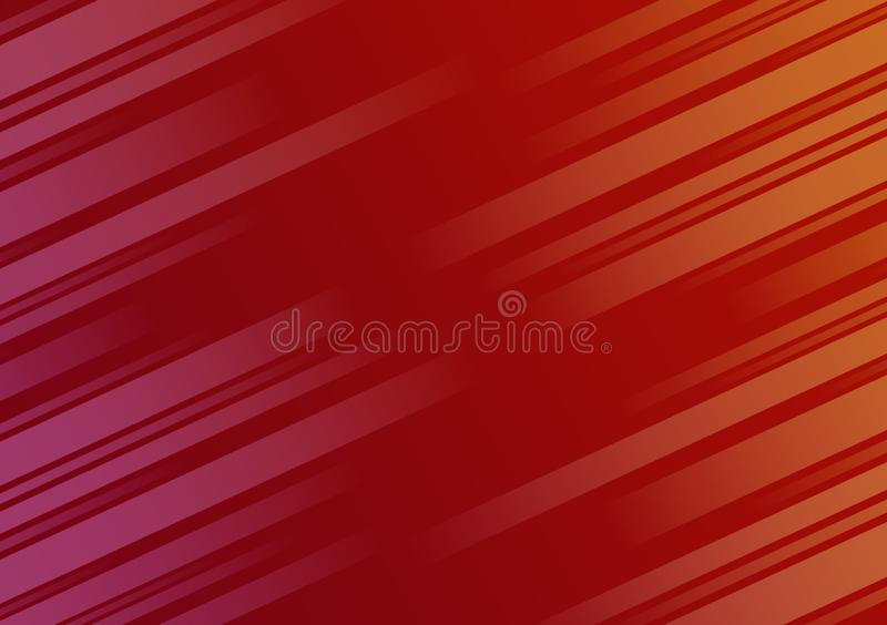 Gekleurd achtergrond geweven diagonaal lineair behangontwerp vector illustratie