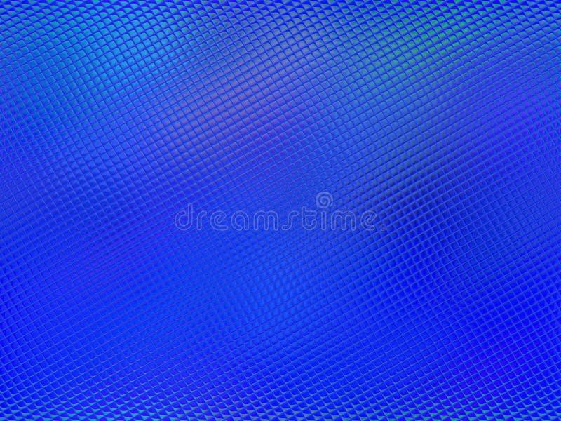 Gekleurd metaalschalenpatroon, dramatische verlichting vector illustratie