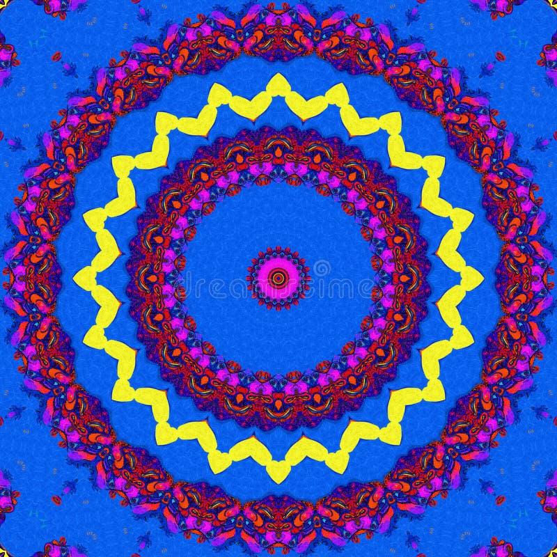 Gekleurd netto patroon stock afbeelding
