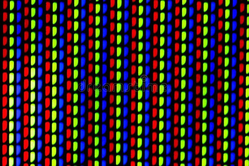 Gekleurd netwerk van TV royalty-vrije stock foto's