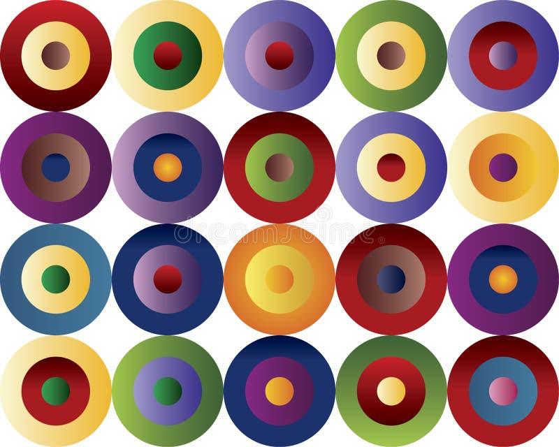 Gekleurd patroon vector illustratie