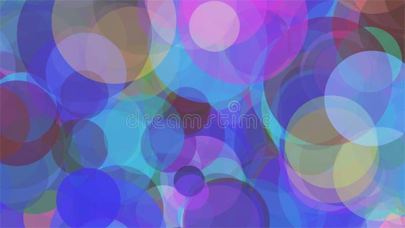 Gekleurde Achtergrond - Abstract Beeld royalty-vrije illustratie
