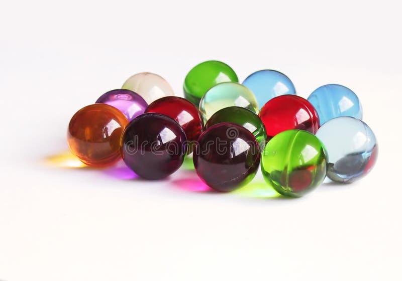 Gekleurde badballen