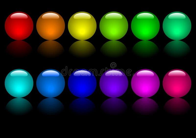 Gekleurde Ballen vector illustratie