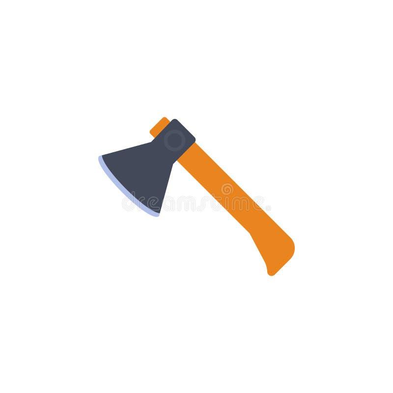 gekleurde bijlillustratie Element van bouwhulpmiddelen voor mobiel concept en Web apps De gedetailleerde bijlillustratie kan voor royalty-vrije illustratie