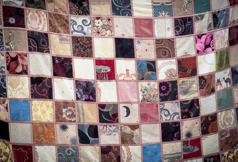Gekleurde deken royalty-vrije stock afbeelding