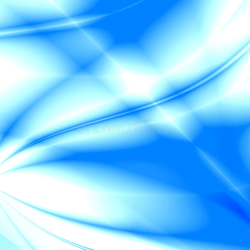 Gekleurde golven royalty-vrije illustratie