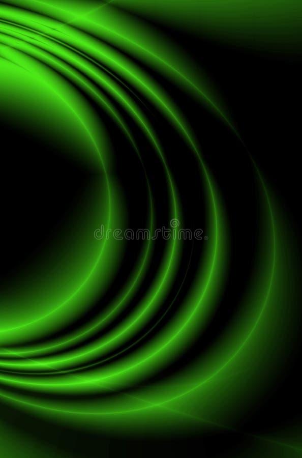 Gekleurde golven stock illustratie