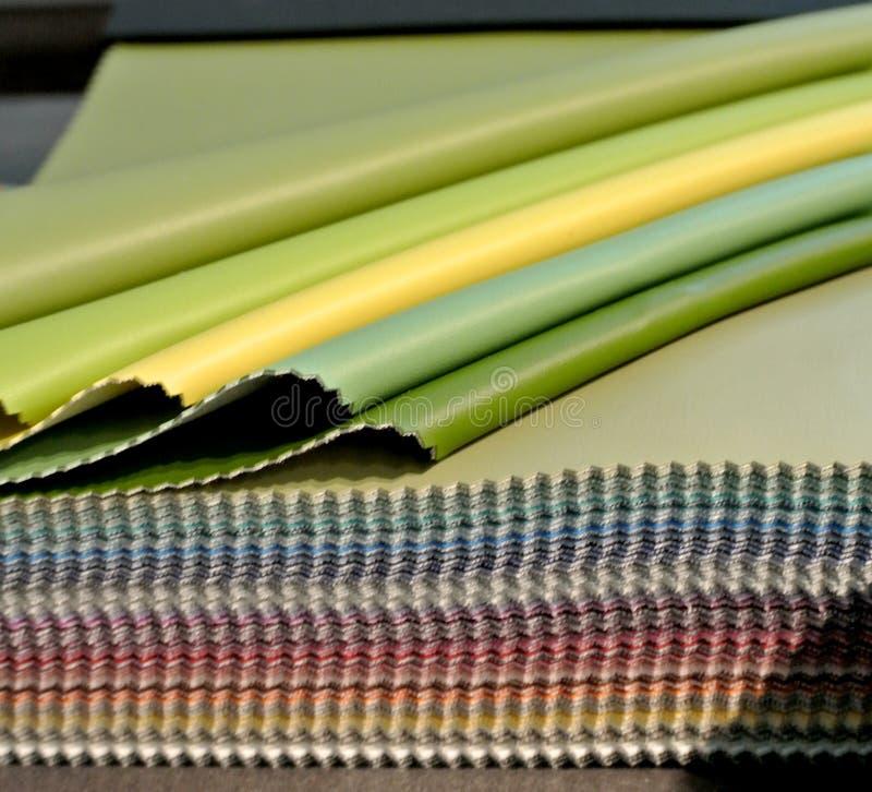 Gekleurde leersteekproef stock foto