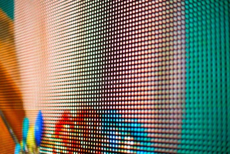 Gekleurde LEIDENE smd videomuur royalty-vrije stock afbeeldingen