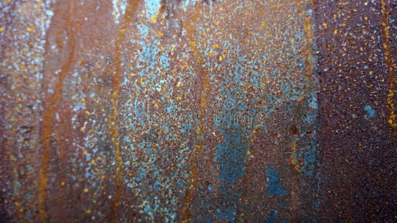 Gekleurde, gekleurde, metalen textuur royalty-vrije stock fotografie