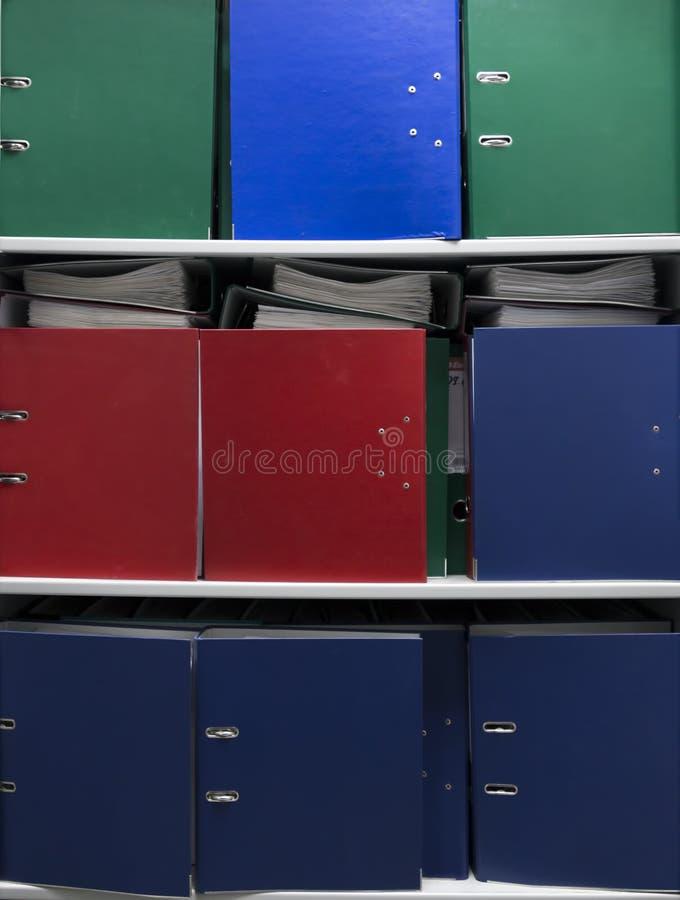 Gekleurde Omslagen royalty-vrije stock foto